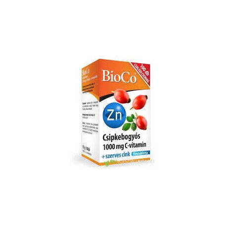 BioCo C+Cink Retard C-vitamin 1000mg+szerves cink CSALÁDI CSOMAG filmtabletta 100x