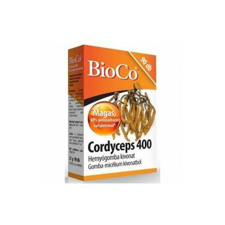 BioCo Cordyceps 400 gomba tabletta 90x