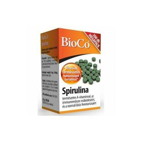BioCo Spirulina MEGAPACK tabletta 200x