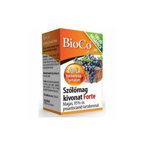 BioCo Szőlőmag kivonat Forte MEGAPACK tabletta 100x