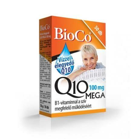 BioCo Vízzel elegyedő Q10 Mega 100mg kapszula 30x
