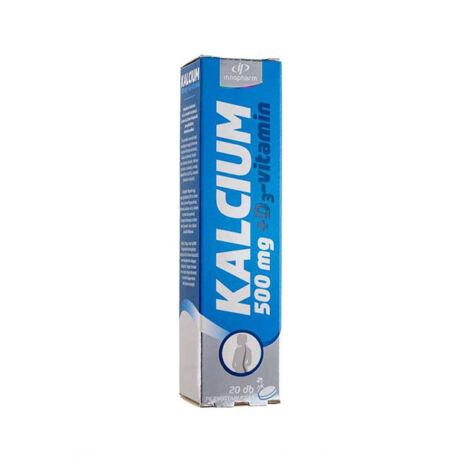 Innopharm Kalcium+ D3-Vit. Pezsgőtabl.