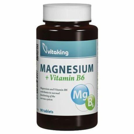 Vitaking Magnesium Cirate+B6 vitamin 90kapsz.