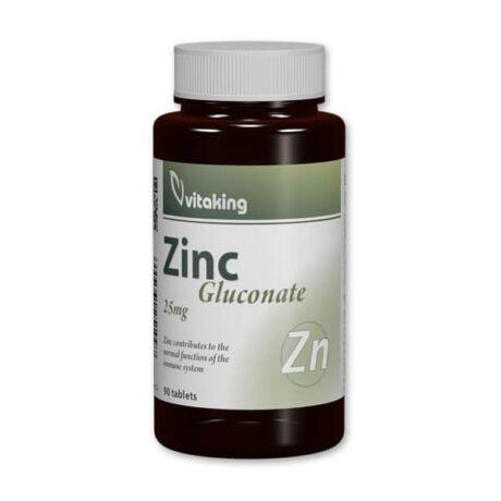 Vitaking Zinc Gloconate 25mg 90tabl.