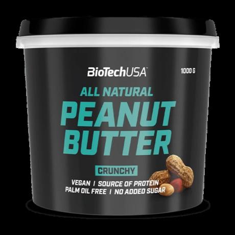 BioTechUSA Peanut Butter 1000g crunchy