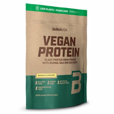 BioTechUSA VEGAN Protein 500g banán