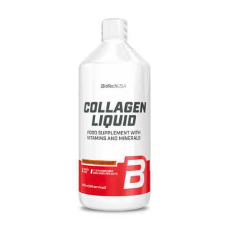BiotechUSA Collagen Liquid 1000ml trópusi gyümölcs