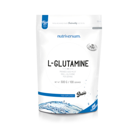 Nutriversum Basic L-Glutamine 500g unflavoured