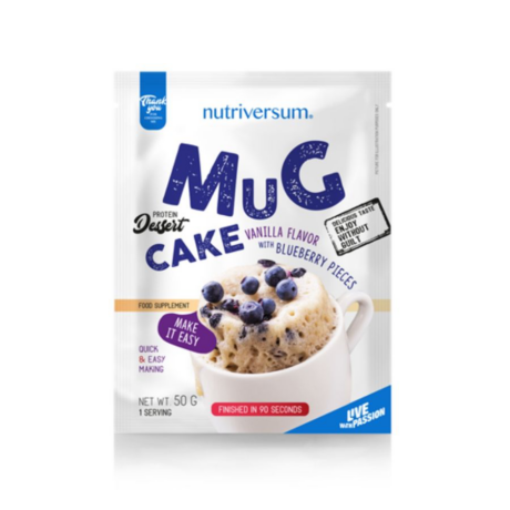 Nutriversum Dessert Mugcake 50g vanilla-blueberry