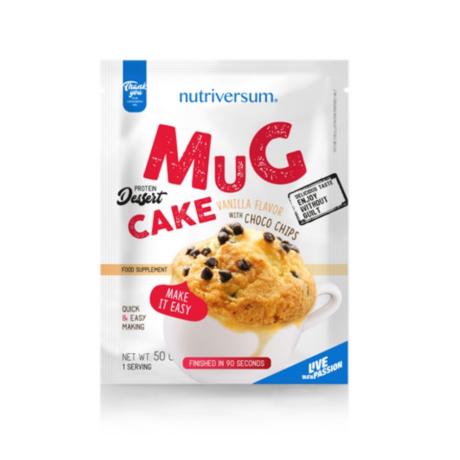 Nutriversum Dessert Mugcake 50g vanilla-chocolate pieces