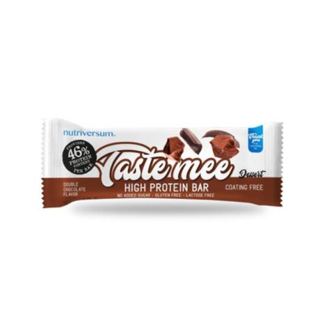Nutriversum Dessert Taste Mee Protein Bar 50g double chocolate