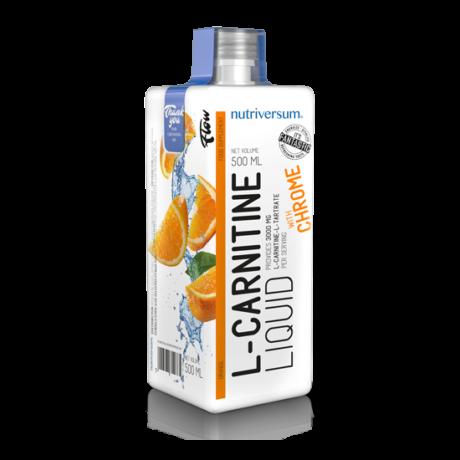 Nutriversum Flow L-Carnitine 500ml orange