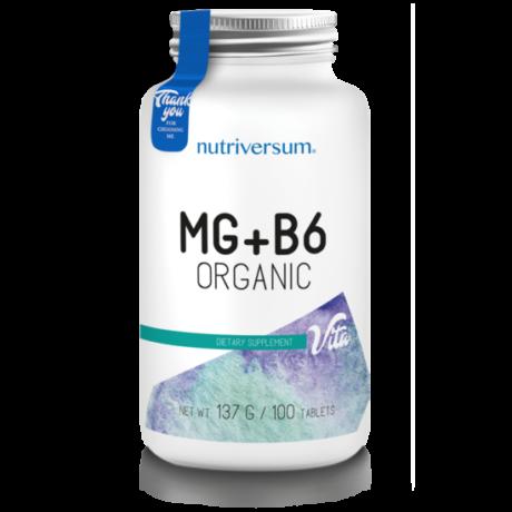 Nutriversum Vita MG+B6 100 tabletta