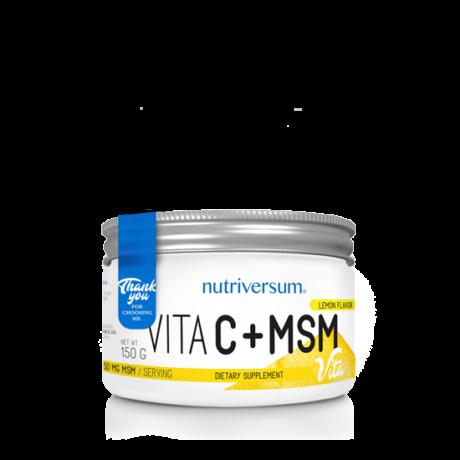 Nutriversum Vita MSM+C lemon 150g