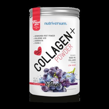 Nutriversum WSHAPE Collagen 600g blue grape
