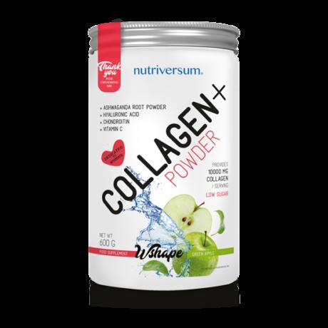 Nutriversum WSHAPE Collagen 600g green apple