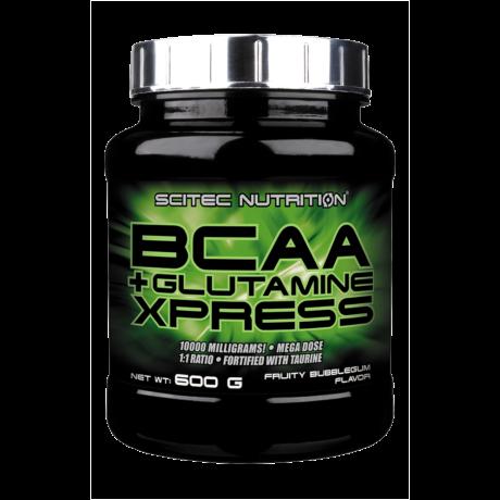 Scitec BCAA+Glutamine Xpress 600g citrus mix