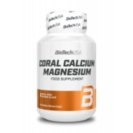 BioTechUSA CORAL CALCIUM MAGNESIUM 100 tabletta