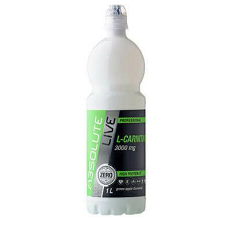 Absolute-Live L-Karnitin Zöldalmás Ital 3000 mg