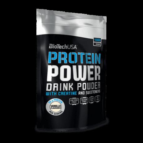 BioTechUSA Protein Power 1000g ZSÁKOS csokoládé