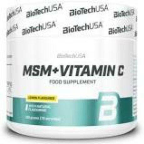 BioTechUSA MSM+VITAMIN C 150g
