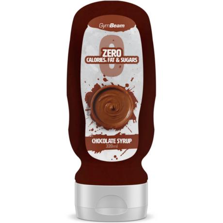 GymBeam Kalóriamentes szirup 320 ml chocolate