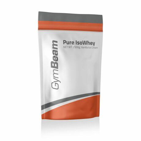 GymBeam Pure Iso Whey fehérje 1000g salted caramel