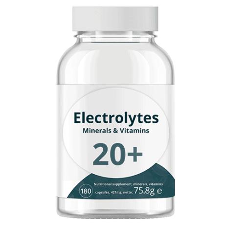 Electrolytes Mineral Vitamines Complex Swiss 180 kapszula