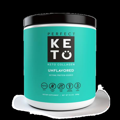 Keto Collagen Unflavoured 300g