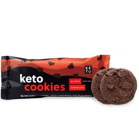 Keto Cookies Double Chocolate Chip 45g
