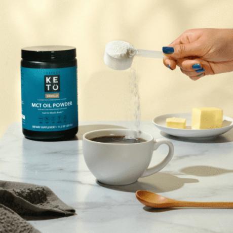 Perfect Keto MCT Oil Powder Vanília 320g