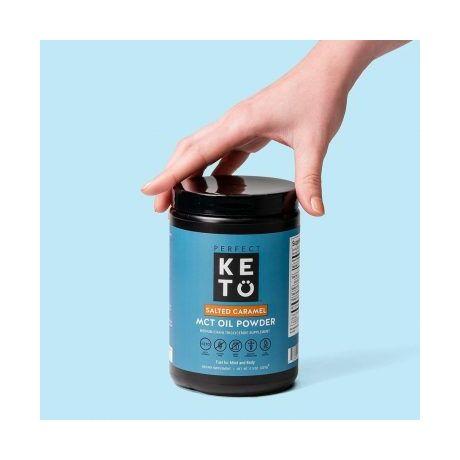 Perfect Keto MCT Oil Powder Salted Caramel 327g