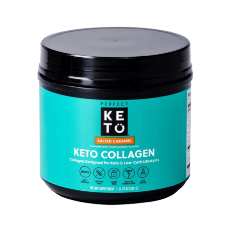 Keto Collagen Salted Caramel 319g