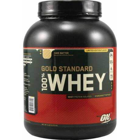 Optimum Nutrition, Gold Standard 100% (Sütikrém) 2,27 kg