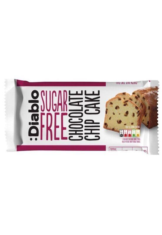 Diablo Sugar Free Chocolate Chip Cake 200 g