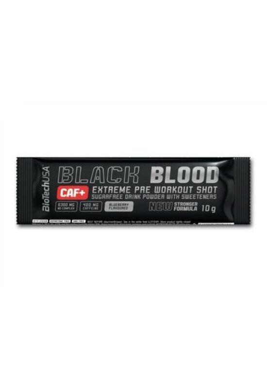 BiotechUSA Black Blood CAF+ 10 g Áfonya ízű