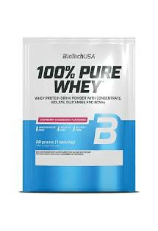 BioTechUSA 100% Pure Whey 28g Mogyoró