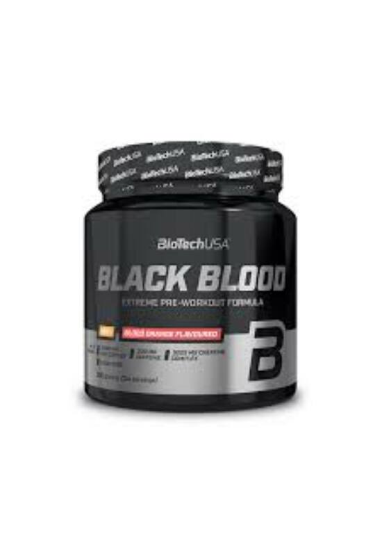 BioTechUSA Black Blood Nox+ 330g trópusi gyümölcs