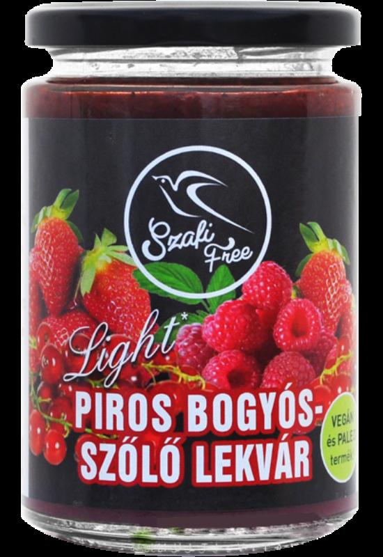 Szafi FREE Lekvár Piros Bogyós- Szőlő 350 g