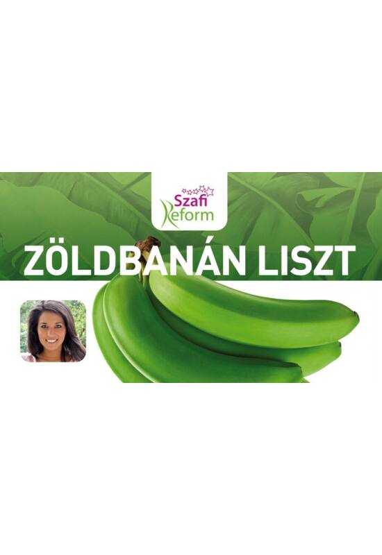 Szafi Reform Prémium Zöldbanánliszt 250 g