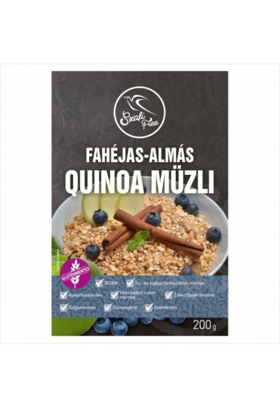 Szafi Free Fahéjas-almás quinoa müzli 200 g