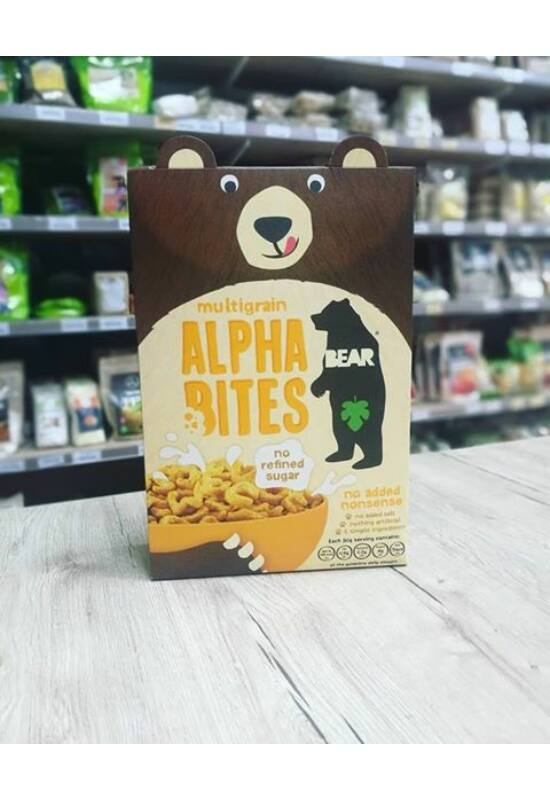 Bear Alpha Bites Multigrain 375g