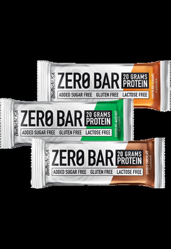 BiotechUSA Zero Bar 50 g almás pite