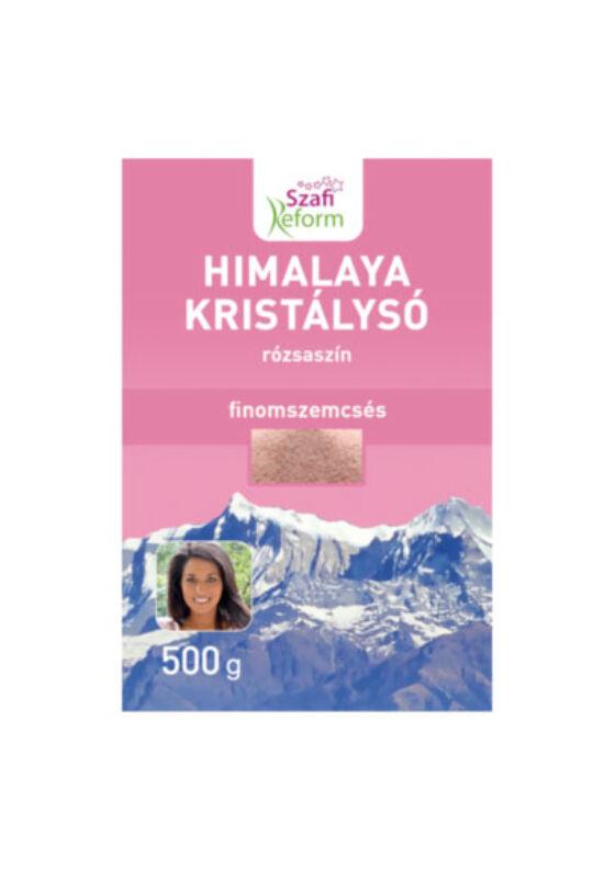 SZAFI Reform Himalaya Kristálysó (finomszemcsés rózsaszín) 500g