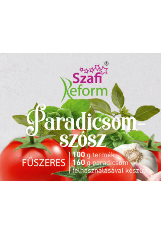 Szafi REFORM Paradicsom szósz 290g fűszeres