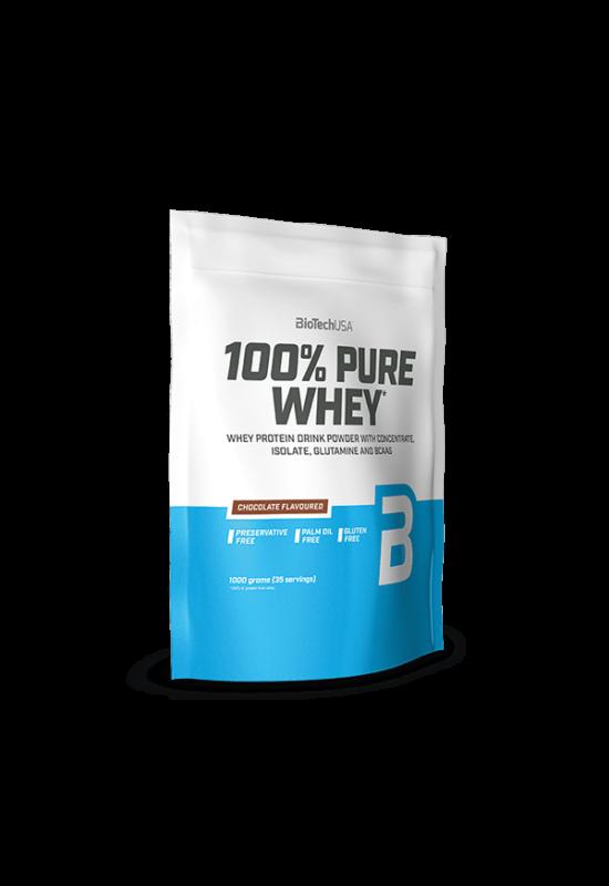 BioTechUSA 100% Pure Whey 454g meggyes joghurt