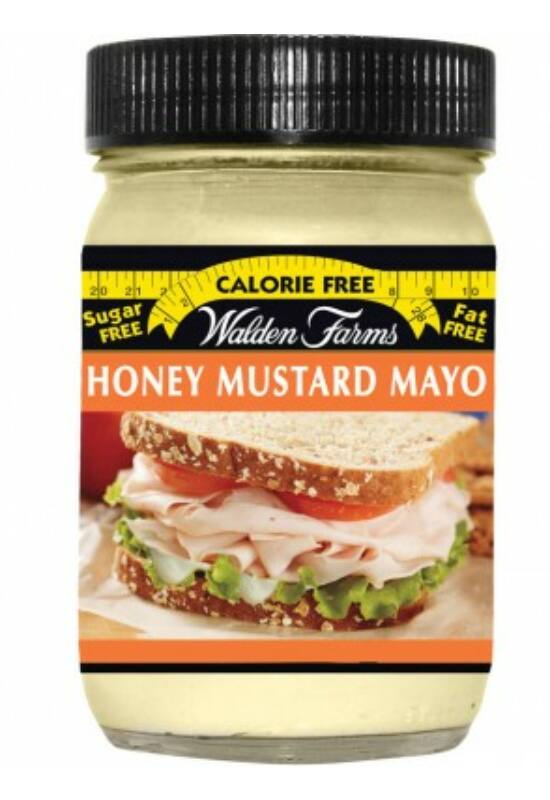 Walden Farms - Honey Mustard Mayo (Mustáros Majonéz) 340 g