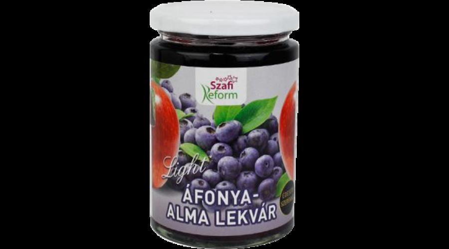 Szafi REFORM Lekvár Áfonya- Alma 350 g
